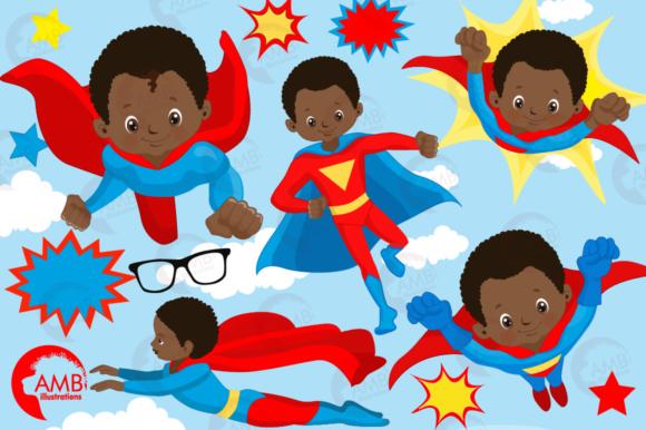 African American Superhero Boys.