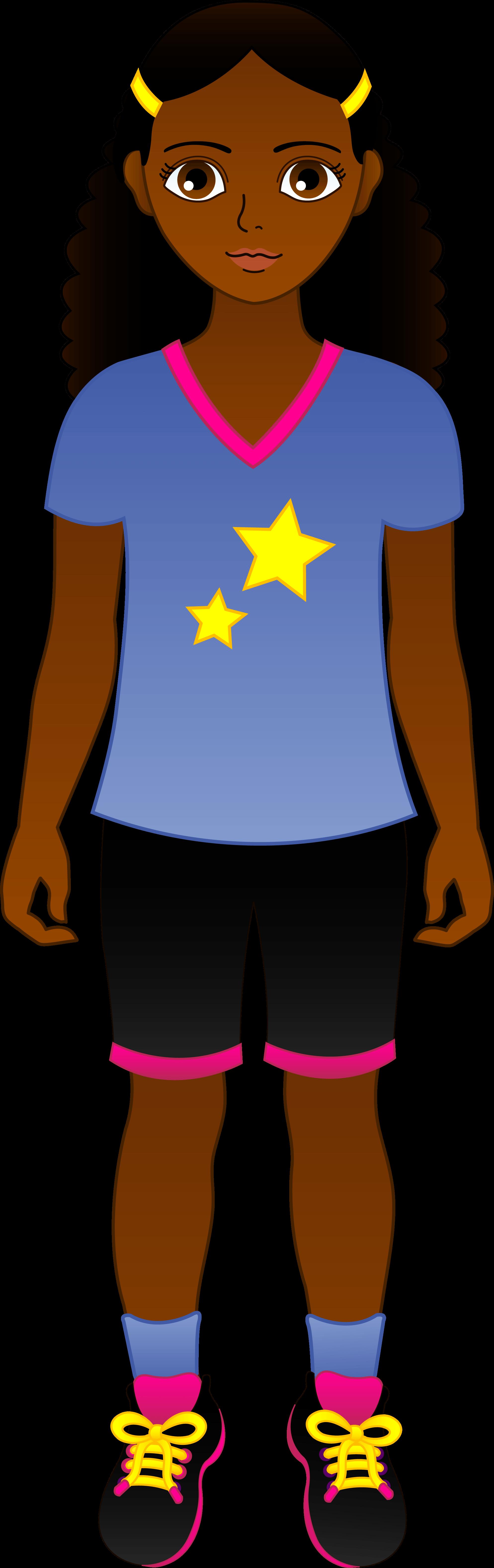 Black Teen Cliparts.