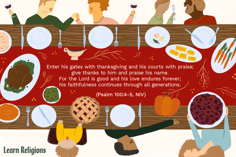 Thanksgiving Blessings to Say at the Table.