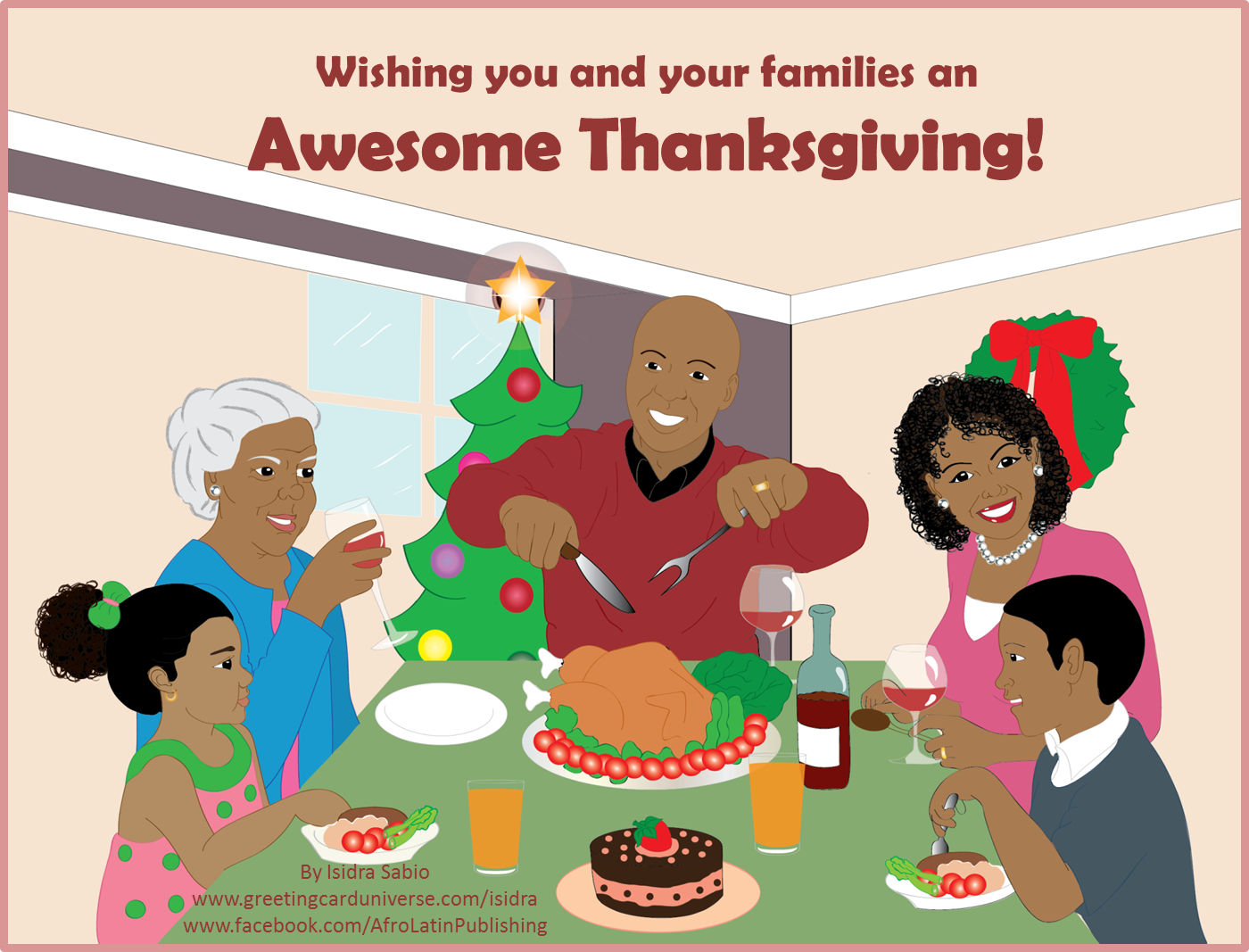 Wishing you and your family a Happy Thanksgiving! #Family.