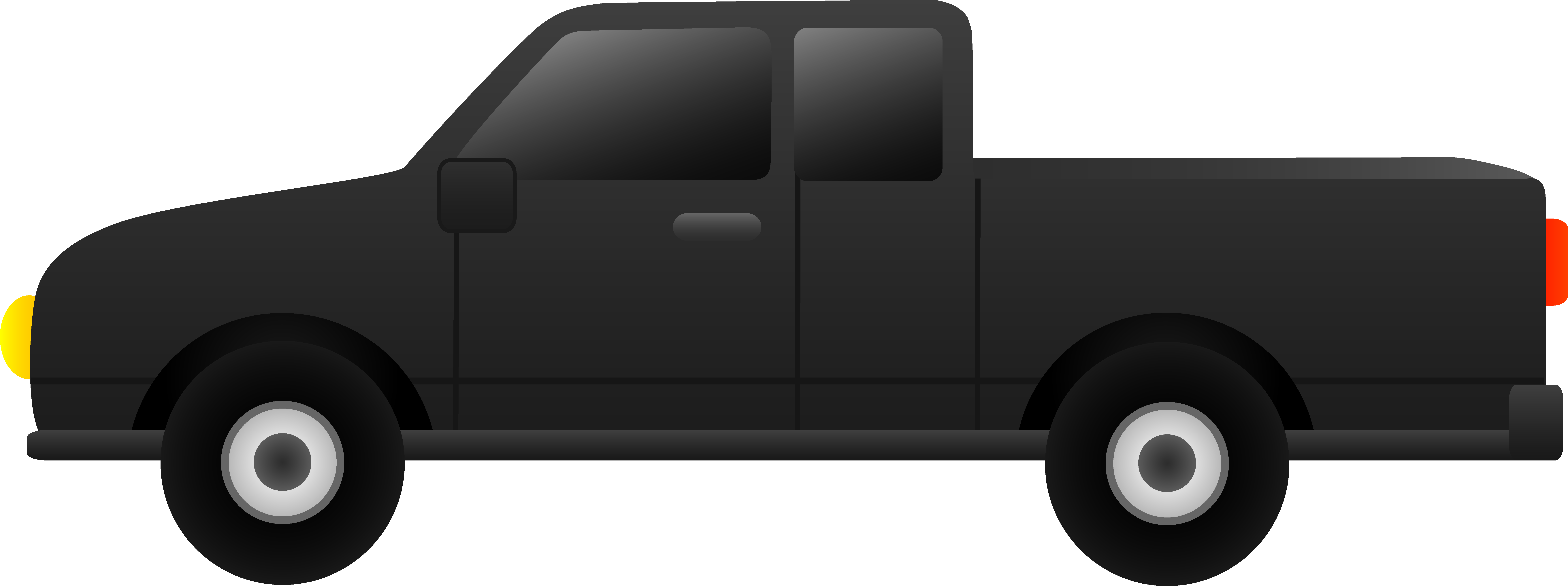 Black Truck Clipart.