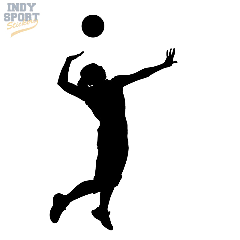 Clip art Volleyball player Silhouette Vector graphics.