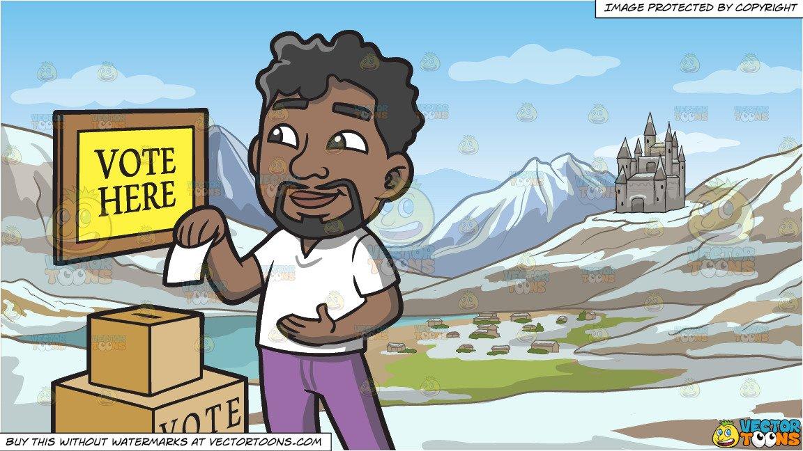 Voting clipart black man, Voting black man Transparent FREE.