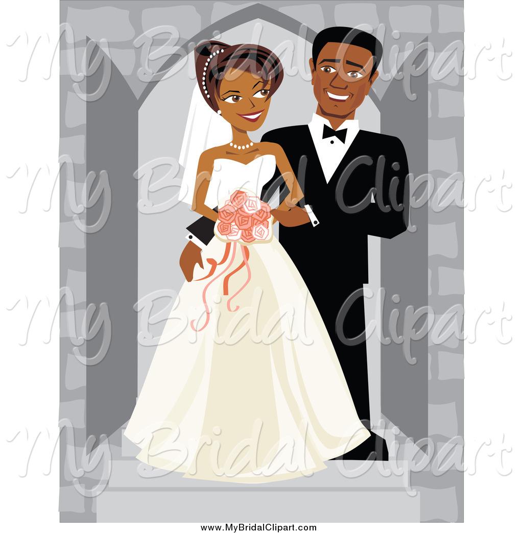 Royalty Free African American Man Stock Bridal Designs.