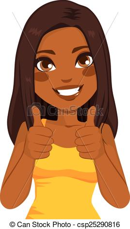 71+ African American Woman Clipart.