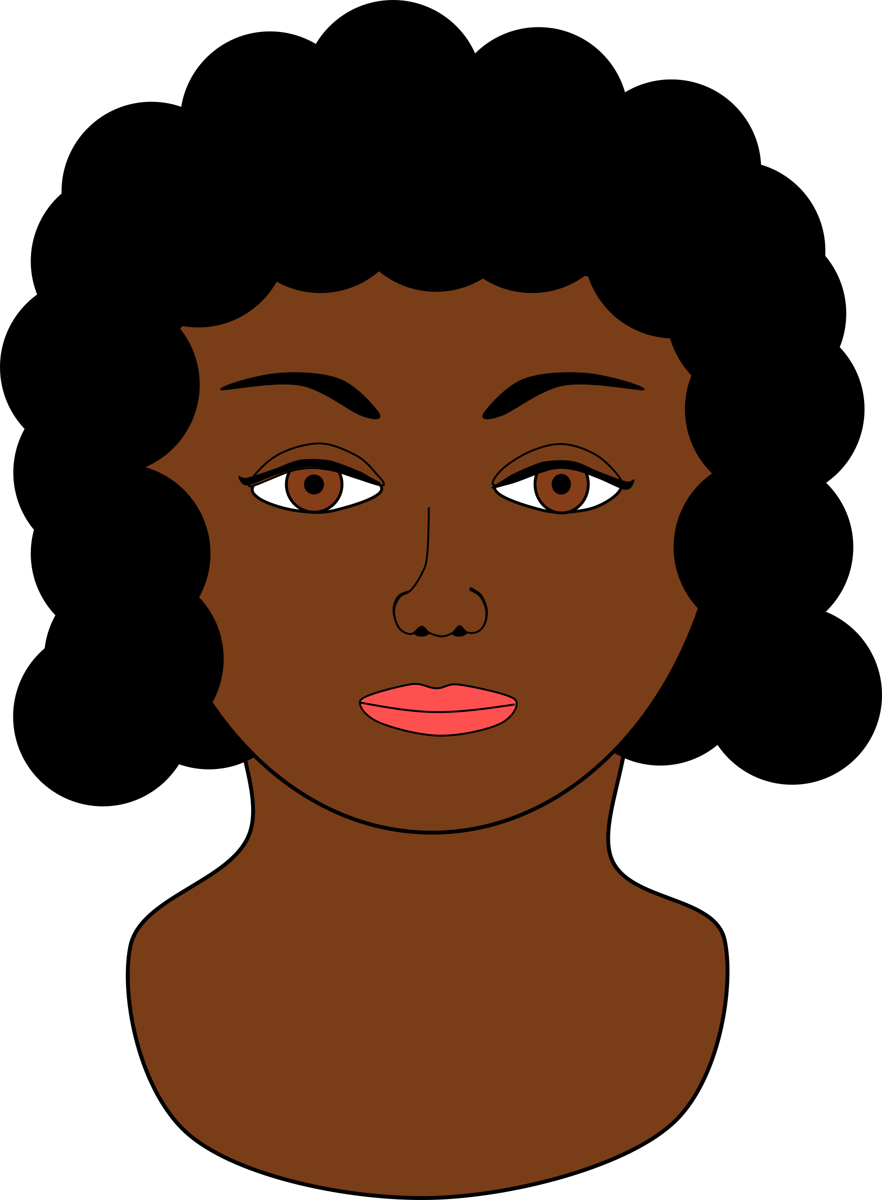 Clipart woman african american, Clipart woman african.