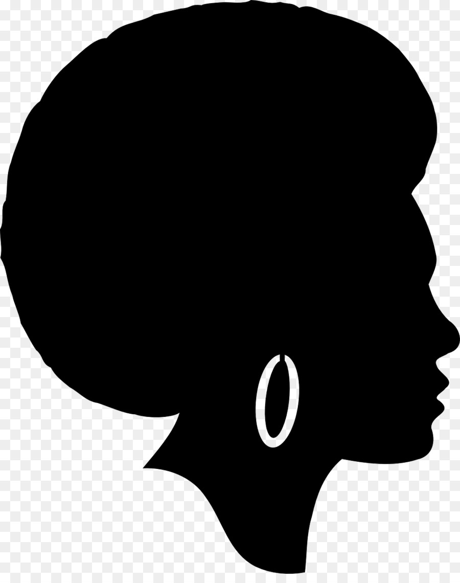 Free African American Woman Face Silhouette, Download Free.