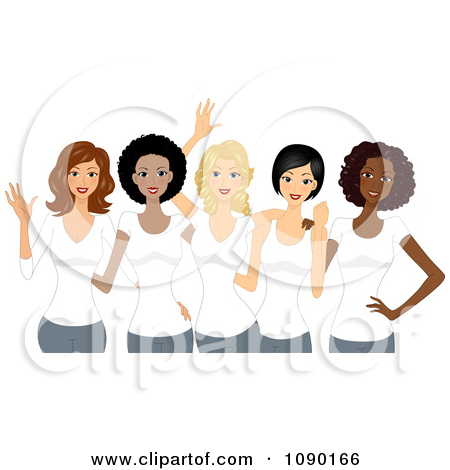 African American Women Day Clipart.