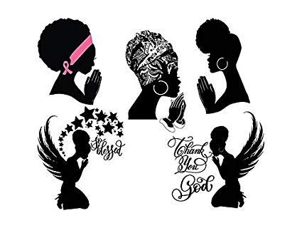 Amazon.com: Yetta Quiller Bundle of 5 Women Praying Nubian.