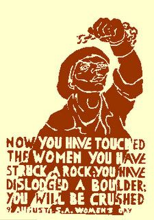 ArtAIDSArt Aug 9 is South African Womens Day. Celebrate the.