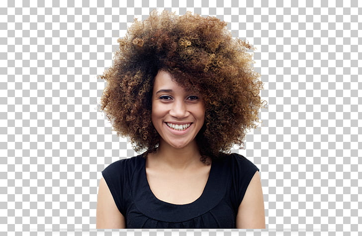 Smile African American Black Woman Afro, talents wanted PNG.