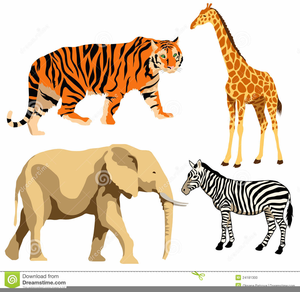 African Animal Clipart Free.