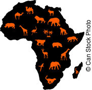 African animals Clip Art Vector Graphics. 11,593 African animals.