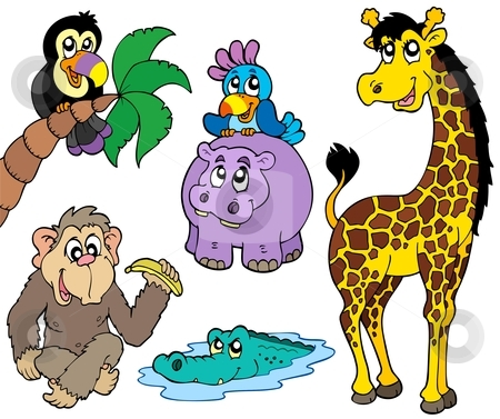 Clipart of african animals.