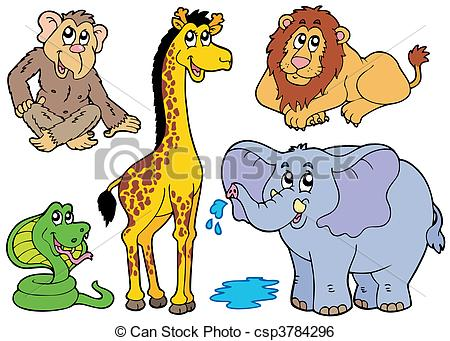 African animal Clip Art Vector Graphics. 11,682 African animal EPS.