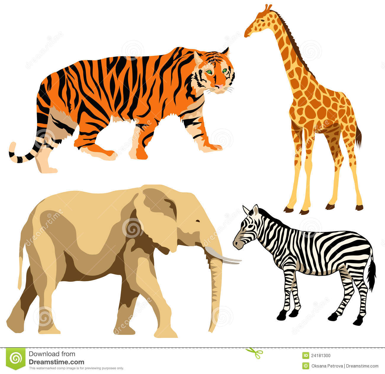 Wild Animals Clip Art, Download Free Clip Art on Clipart Bay.