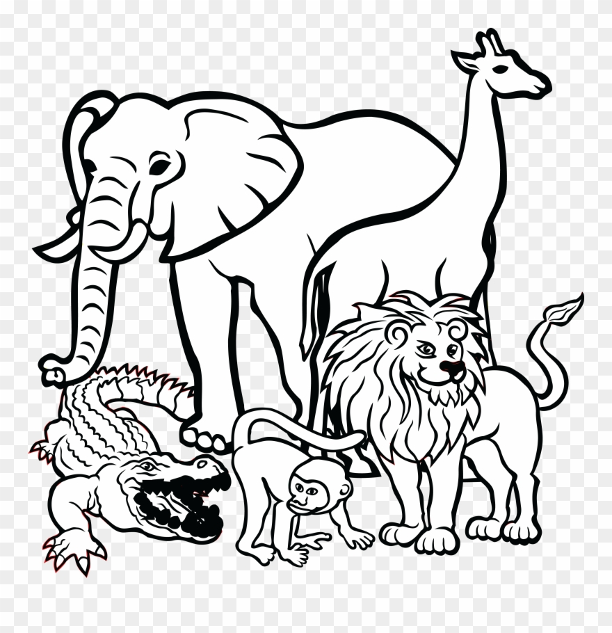 Free Clipart Of African Animals.
