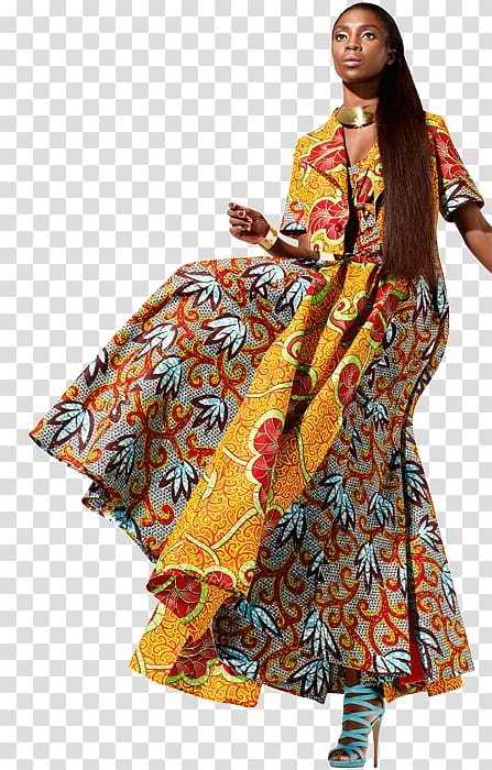 African wax prints Dress Clothing Fashion, African Textiles.