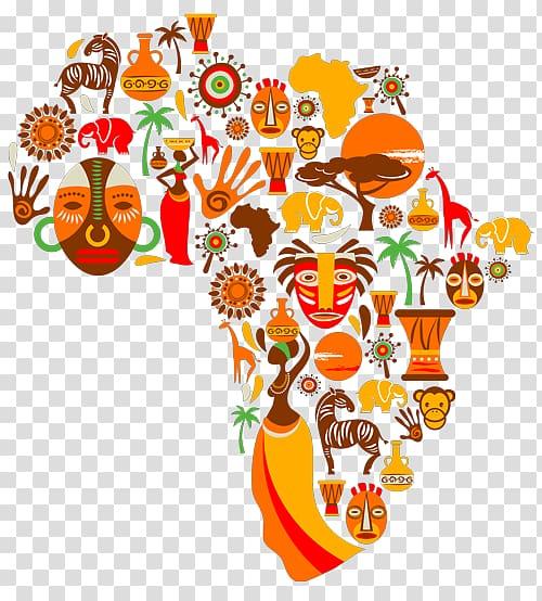 Africa Printmaking graphics Printing Art, wonderful music.