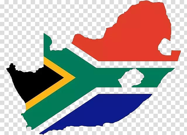 Flag of South Africa Apartheid , South African flag map.