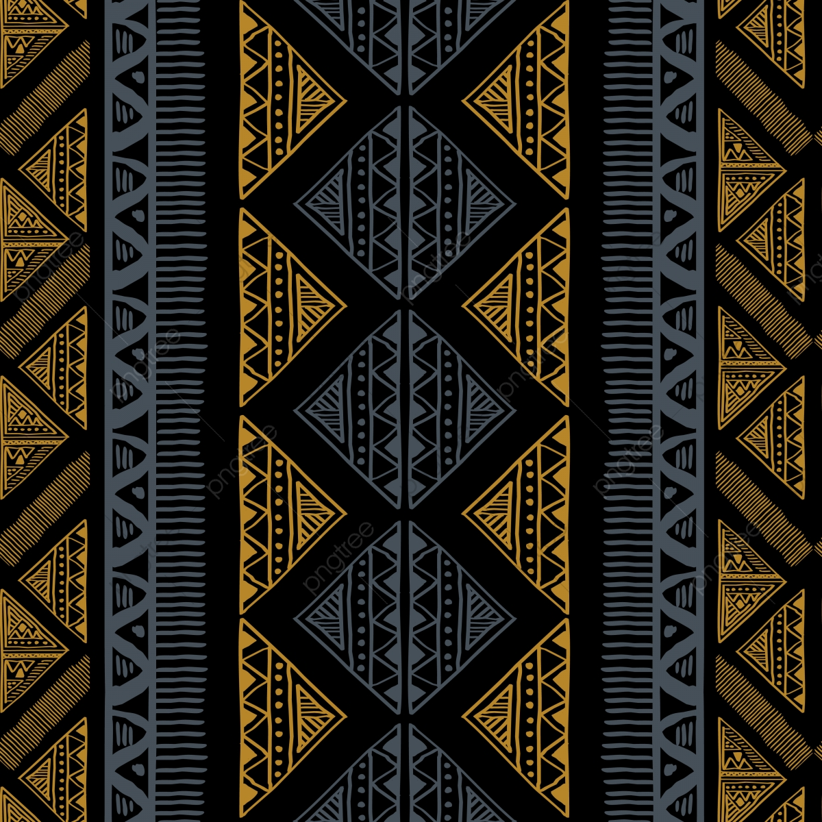 Abstract Ethnic African Pattern, Background, Pattern, Abstract.
