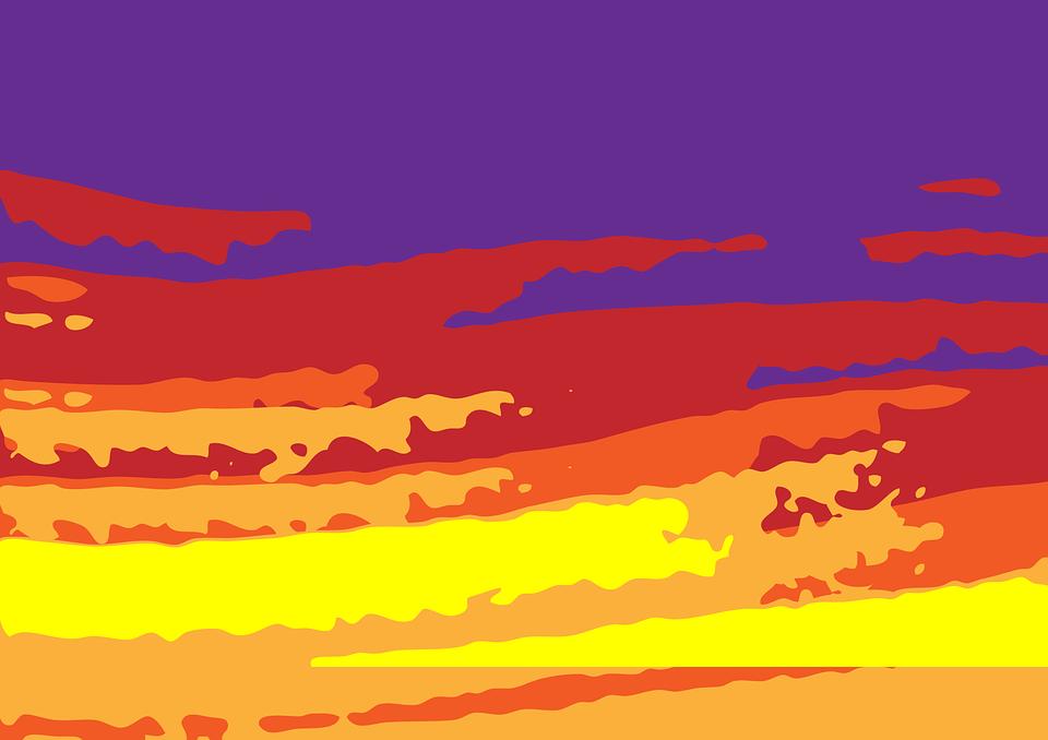 Background Poster Desert.