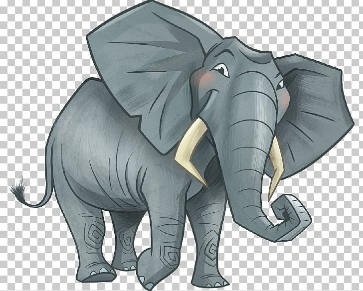 Vacation Bible School African Elephant Indian Elephant PNG.