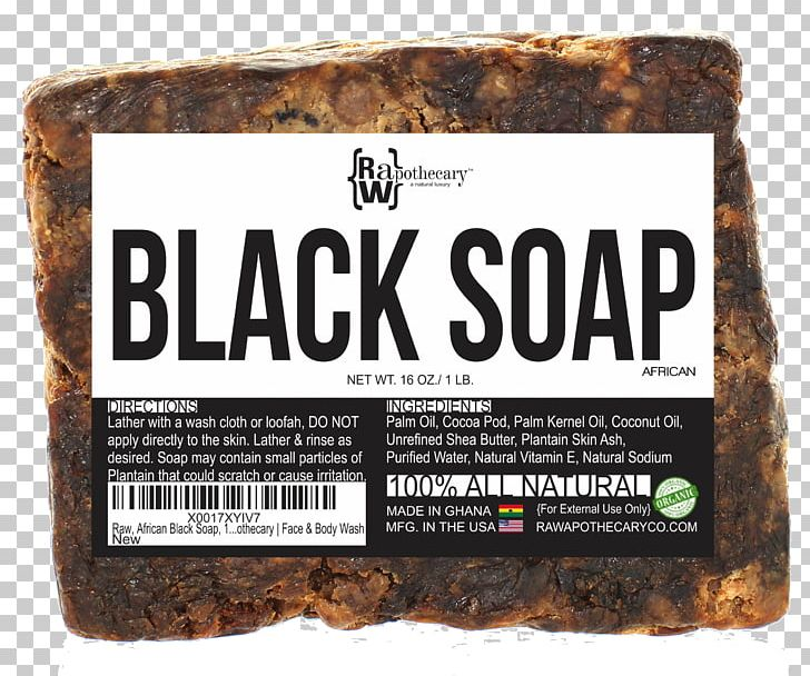 African Black Soap Shea Butter Shower Gel Cosmetics PNG.
