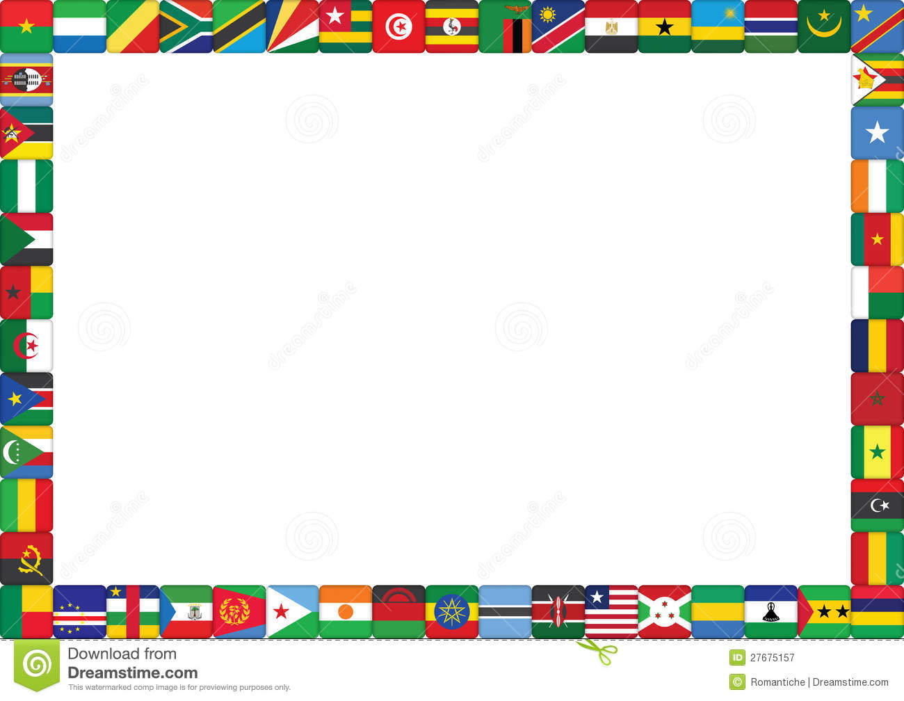 Africa clipart border, Africa border Transparent FREE for.