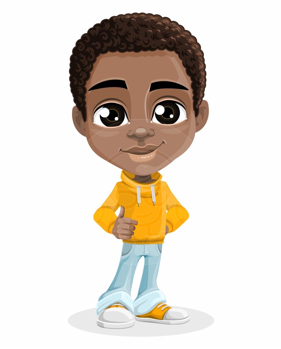 Jorell The Playful African American Boy.