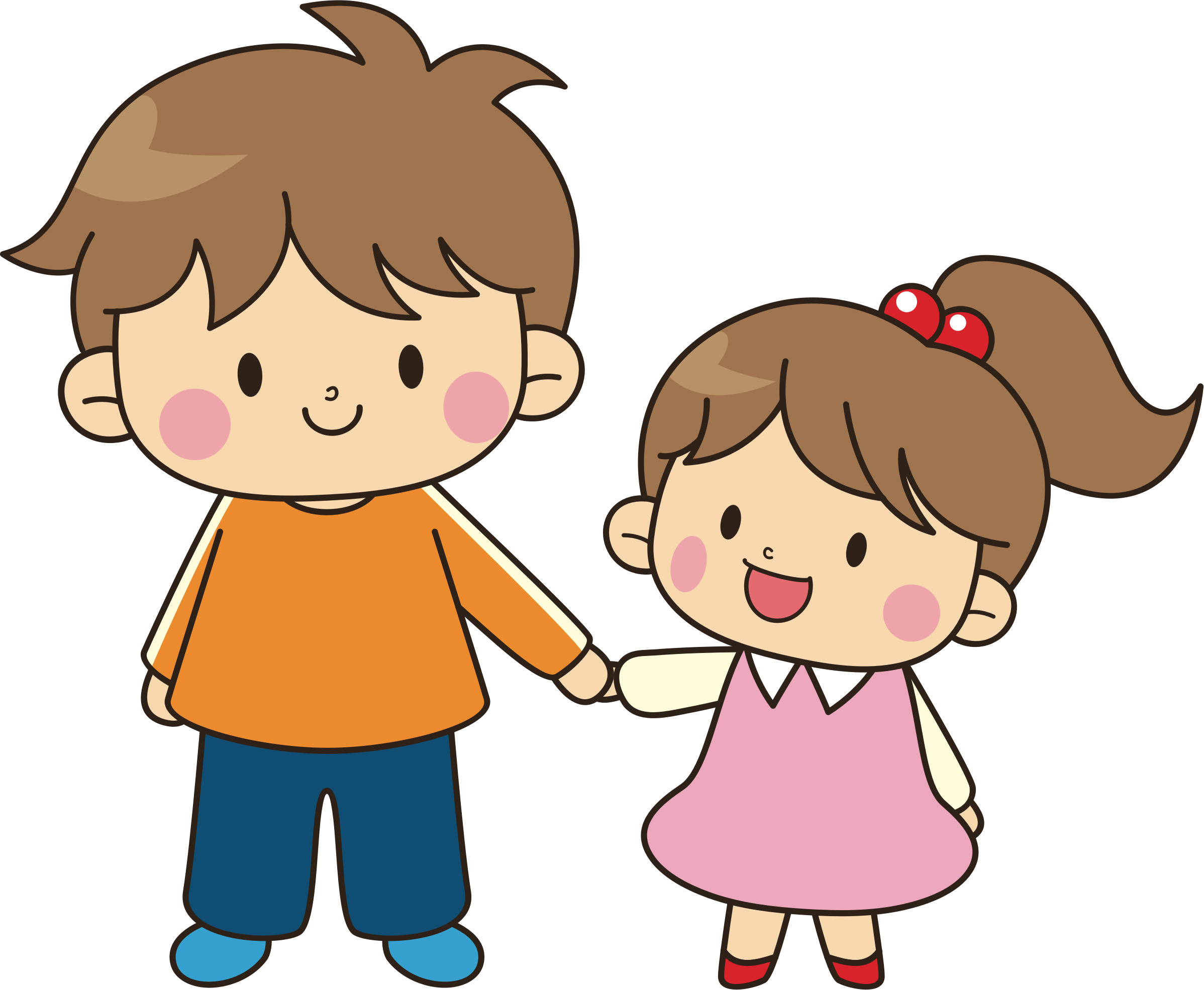 Brother Sibling Sister Clip art.