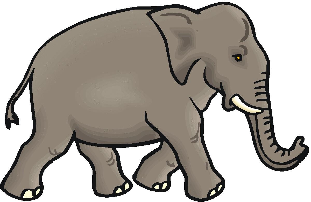elephant clip art #4.