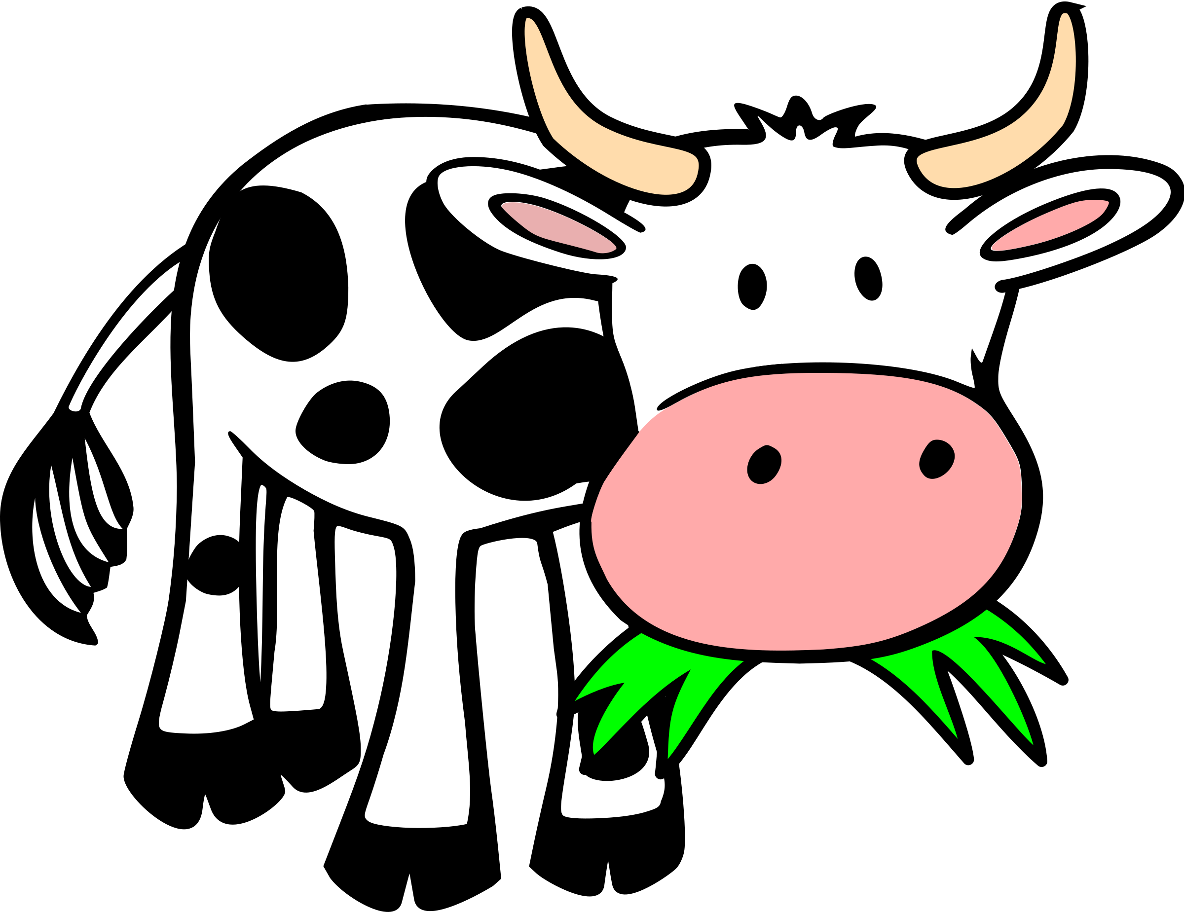 Animal Eating Clipart.