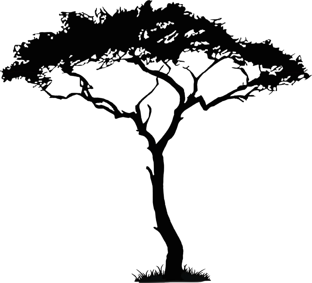 African Trees Clip art.