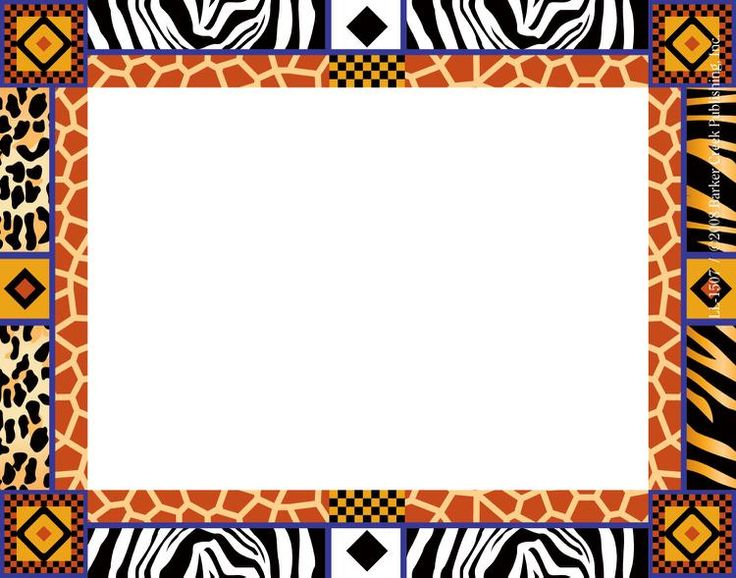 African clipart boarder, African boarder Transparent FREE.