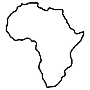 Africa clipart outline, Africa outline Transparent FREE for.