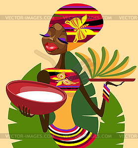 African Food Clipart.