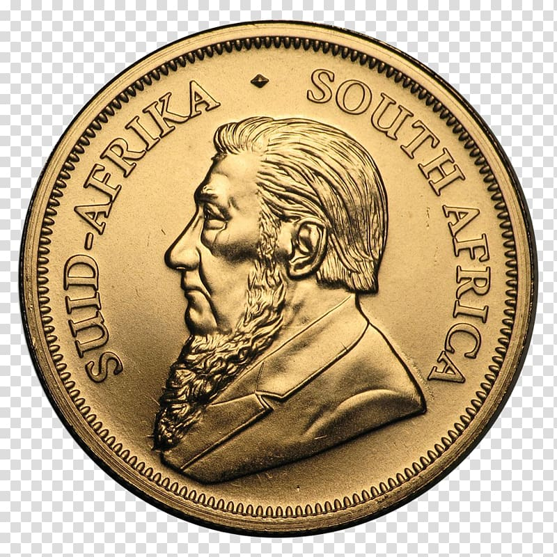 Krugerrand South African Mint Bullion coin Gold coin.