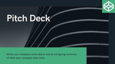 Customize 166+ Pitch Deck Presentations Templates Online.