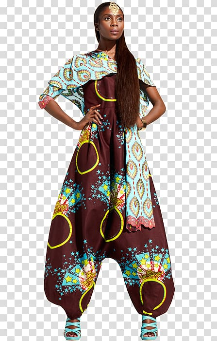African waxprints Dress Fashion Kitenge, Africa transparent.
