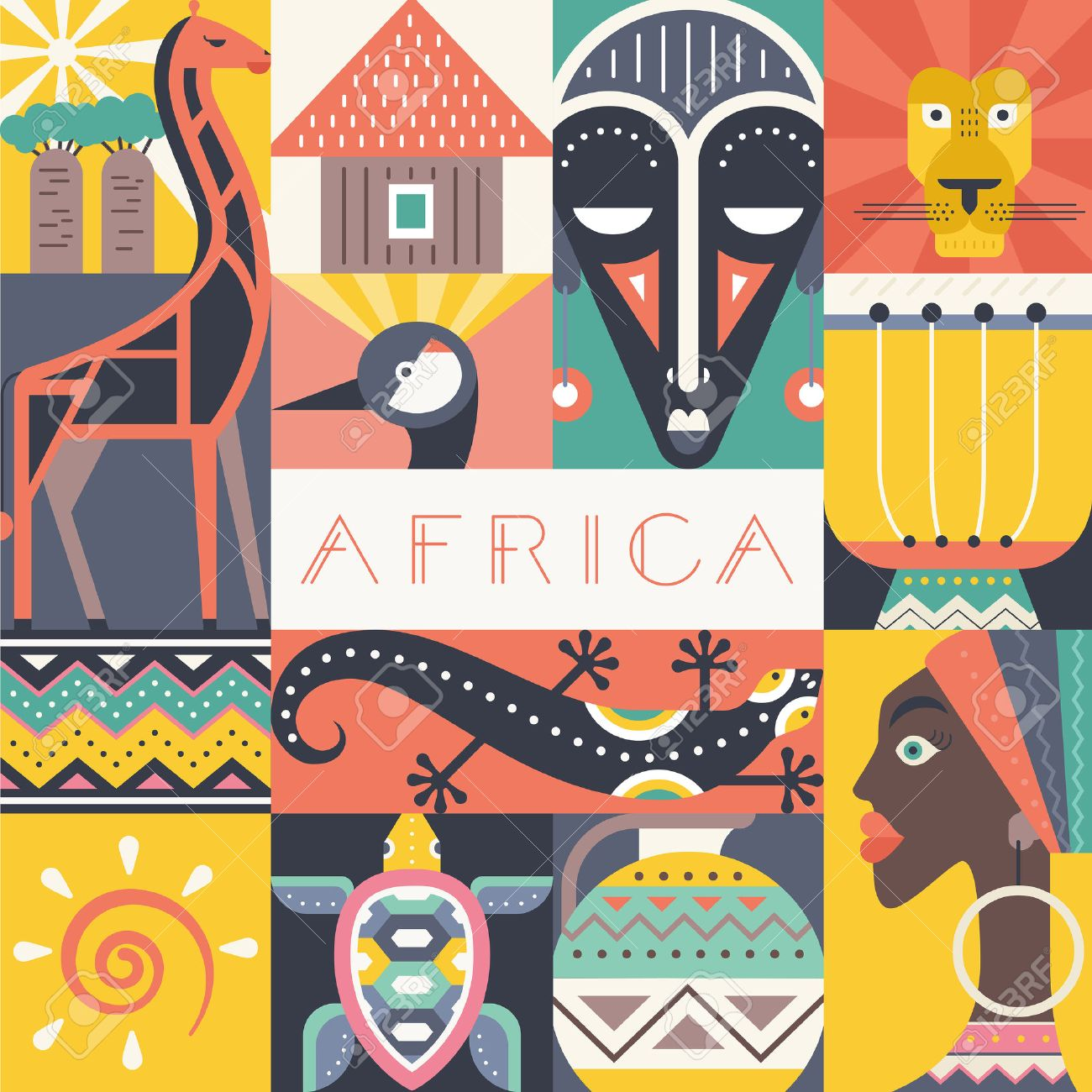 Collection of 14 free Africa clipart design african bill clipart.