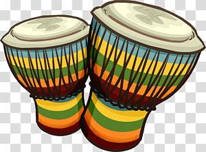 Drummer , Beat African drums transparent background PNG.
