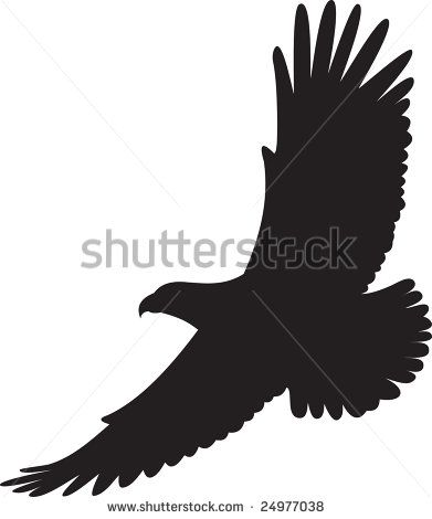 Free flying eagle clip art Free vector for free download.