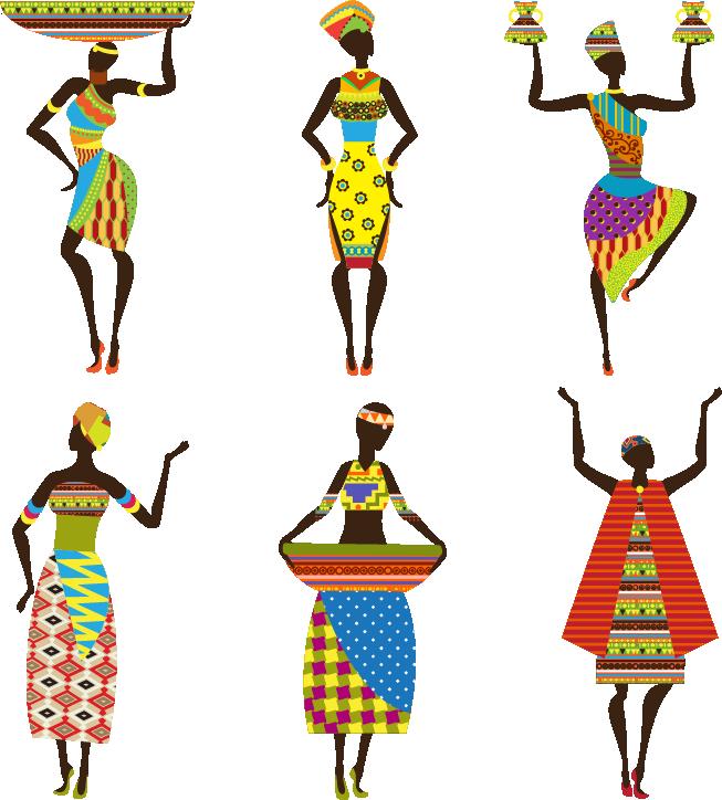 African art Clip art.