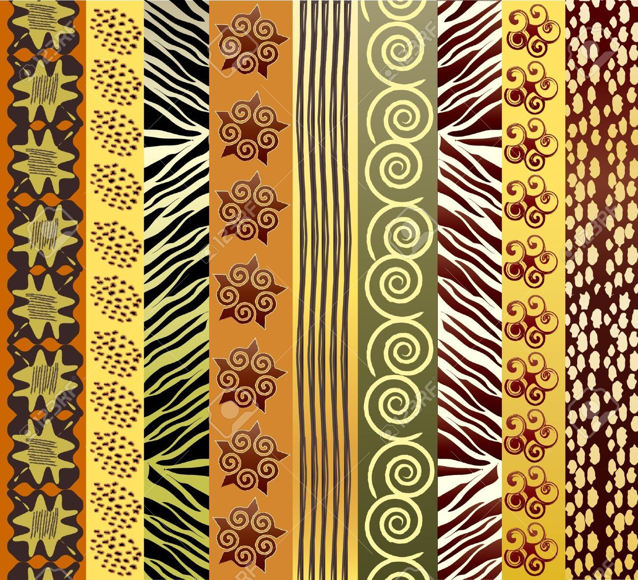 African Pattern Cliparts, Stock Vector And Royalty Free.