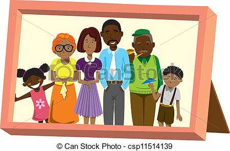 African family Clip Art Vector Graphics. 1,183 African family EPS.