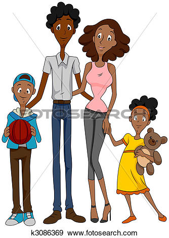 African american family Illustrations and Stock Art. 78 african.