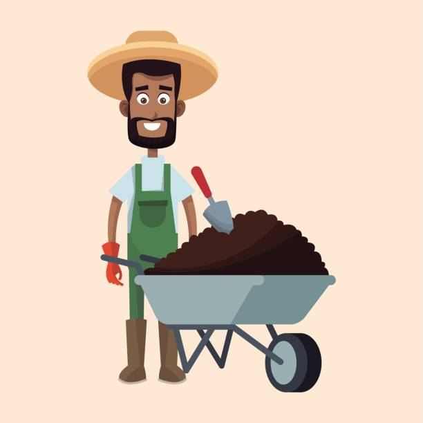 Best Africa Farmers Illustrations, Royalty.