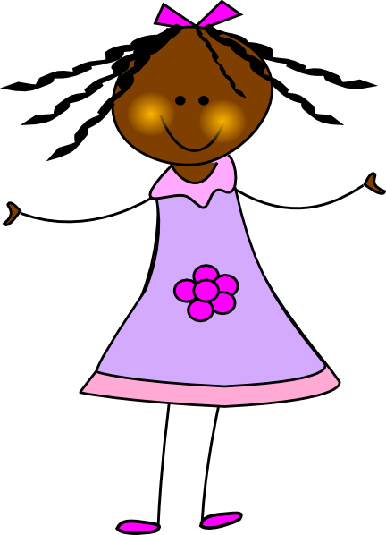 African Girls Clipart - Clipground-1426