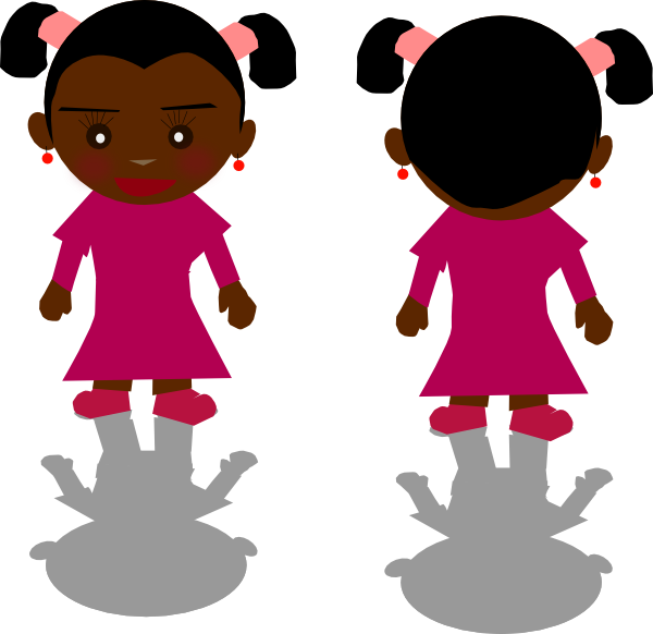 Black Girl Clipart.